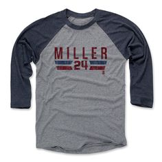 Andrew Miller Font R Cleveland MLBPA Officially Licensed Baseball T-Shirt Unisex S-3XL