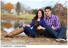 Couples Photography (with dog) by Samantha Cameron - Swansea Massachusetts
