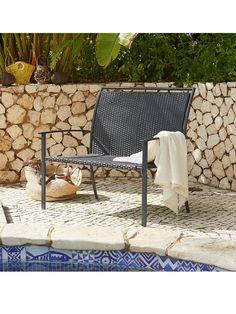 Garden Weave Bench | very.co.uk