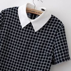 Collared Grid Dress from hhotaru Veronica Lodge Aesthetic, Veronica Lodge Fashion, Veronica Lodge Outfits, Moda Emo, Style Grunge, Zooey Deschanel, Love Clothing, Collar Shirts, Collar Top