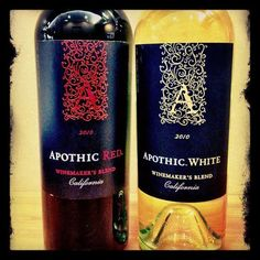 Apothic Wine. My favorite is the White. Happiness in a bottle.