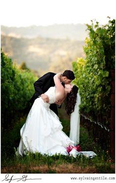 vineyard weddings V. Sattui Vineyard