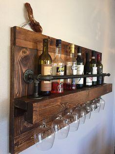 Great Rustic Wine Rack