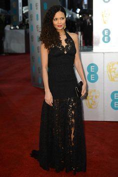 Thandie Newton in Louis Vuiton - BAFTA Awards 2013