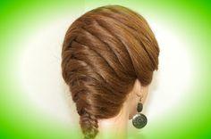 Everyday hairstyle. Hairstyles for long hair. Braid hair tutorial