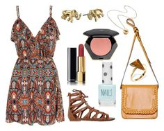"""""""Untitled #178"""" by bunas ❤ liked on Polyvore featuring Mela Loves London, Jennifer Fisher, Ona Chan, O'Neill, Topshop, Chanel, H&M and Kate Spade"""