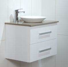 Small Wall Hung Bathroom Vanity Cabinet Laminate Www