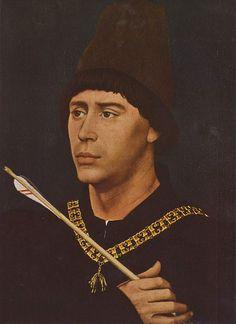 Portrait of Antony of Burgundy | Rogier van der Weyden