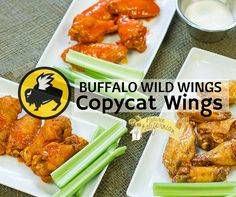 Buffalo Wild Wings inspired copycat wing recipes