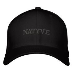 NATYVE / by: Opal01 Embroidered Baseball Hat - accessories accessory gift idea stylish unique custom