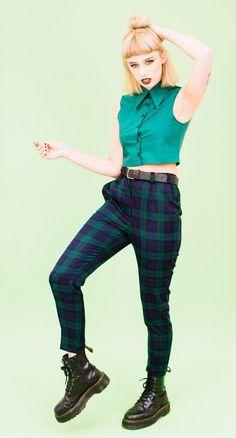 'BROOKE' Ankle Grazer Trousers PETITE