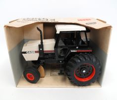 1/16th Case 2594 2WD Diecast Tractor by ERTL, Made in the USA