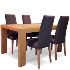 Mesa comedor extensible + 4 sillas