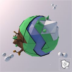 Earth_Low_Poly