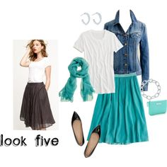 Look Five, created by rockinthecrew on Polyvore