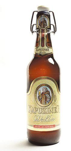 Kulmbacher Brauerei Kapuziner Weissbier  Leicht 3,1% pullo