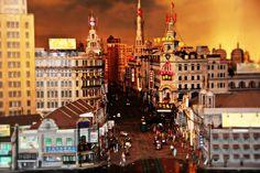 Model of Shanghai old city