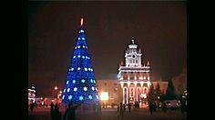Christmas, City Centre Park, Kostanay