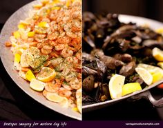 Eclectic Catering - Fresh Seafood! Memphis Wedding Photography