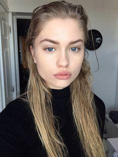 """business in the front, party in the back"" Beautiful Girl Makeup, Pretty Makeup, Dark Blonde, Blonde Hair, Alexandria Morgan, Natural Blondes, Light Brown Hair, Platinum Blonde, Tumblr Girls"