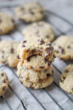 Almond & Coconut Chocolate Chip Cookies Recipe