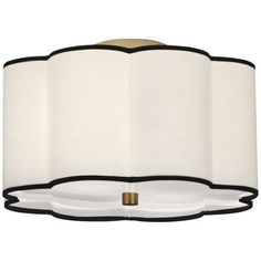 """Simple lighting - Robert Abbey Axis 16"""" Wide Aged Brass Ceiling Light"""