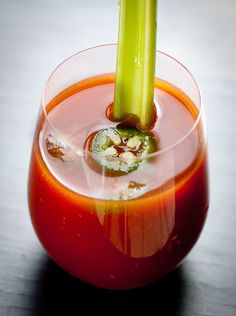 Absolutely THE BEST Bloody Mary Ever  Recipe makes large pitcher, 8 - 10 cocktails    1 quart of tomato juice  2 1/2 cups vodka   1/4 cup + 1 tablespoon horseradish  1/4 cup + 2 tablespoons worcestershire sauce  1 1/2 teaspoons salt  1 teaspoon tabasco  1/4 cup + 2 tablespoons lime juice  1/4 teaspoon celery salt  1 teaspoon grated fresh onion    Mix all ingredients in a large pitcher and pour over ice in a cocktail glass.  Add a stick of celery, slice of jalapeno, and/or olives to garnish.
