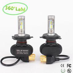 2PCS CSP LED Headlight Bulbs H7 Conversion Kit 50W 8000LM 6500K Cool White NEW
