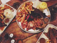 Smoke BBQ Sheffield Receta Bbq, Smoke Bbq, Sheffield, Paella, Ethnic Recipes, Food, Essen, Yemek