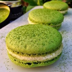 Healthy French Matcha Macarons Matcha has a wealth of antioxidants amino acids chlorophyll and other vitamins and nutrients. Our culinary grade matcha mixes great with these macarons @bringing_fit #matcha #macarons #green #yummy #delicious #foodporn #foodpics #dinner #dessert #antioxidants #detoxfood #detox #organic #vegan #plant #greentea #tea #travel #japan