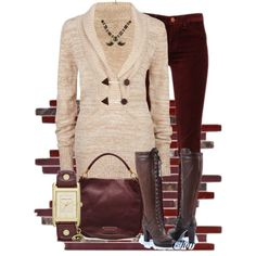 """""""cherry bomb boots"""" by thefarm on Polyvore"""