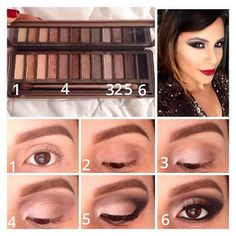 PinTutorials: Pictorial using only the Naked 2 Palette