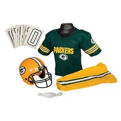 NFL Green Bay Packers Boys Uniform Set Medium -- You can find out more  details 51e547d78