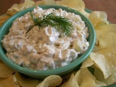 Dill Pickle Dip: 8 ounces light cream cheese, 2 dill pickles, finely chopped, 2 tablespoons onions, finely chopped, 2 tablespoons pickle juice (or more), 1 dash salt, 1 teaspoon dried dill weed