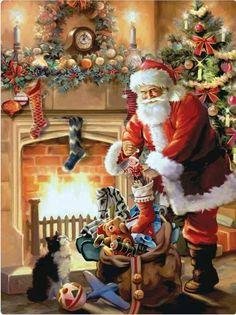 Spirit of Santa by M. Mishkova