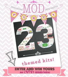 Themed Party Starter Kit Giveaway - Enter Now