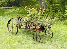 Vintage Tractor Planter