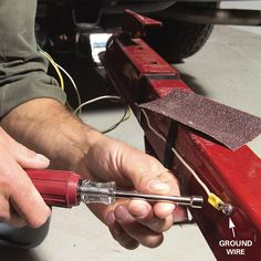 Trailer lights not working? Here's how to diagnose and fix utility and/or boat trailer wiring issues. Get your trailer hitch lights up and running again fast! Boat Trailer Lights, Trailer Light Wiring, Trailer Wiring Diagram, Kayak Trailer, Trailer Tires, Trailer Plans, Trailer Build, Trailer Hitch, Kayak Fishing Accessories