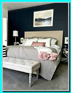 master bedroom navy and gold-#master #bedroom #navy #and #gold Please Click Link To Find More Reference,,, ENJOY!!