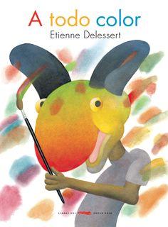 Las extrañas y divertidas criaturas de Etienne Delessert introducen, mediante una lúcida didáctica, la teoría del color. Delessert se sirve del arcoíris para presentar los colores básicos y dejar un valioso mensaje: «Las mezclas sutiles crean los colores más bellos». A todo color es el primer título de una original trilogía de libros de descubrimiento que se completará con A de alfabeto y Hambre de números. A partir de 4 años: 18 x 24 cm; 32 pp.; Cartoné; ISBN: 978-84-9424-730-9
