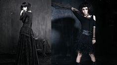 gothic beauty Punkrave: Gothic Fashion born from Punk Spirit Founded a little over ten years ago, fashion label Punk Rave has become synonymous with intricate, yet eminently wearable, gothic designs. Their skin ... Lenore