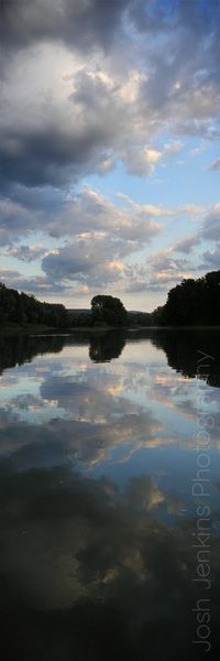 Sky, clouds and reflections of Binghamton New York joshjenkins.ca