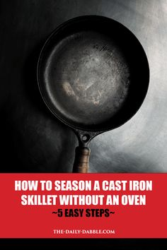 How do you season cast iron without an oven — is it even possible? While the process is slightly different, it is very possible to season cast iron on a stove! Cast Iron Griddle, Cast Iron Stove, Cast Iron Skillet, Clean Stove Burners, Clean Stove Top, Natural Cleaning Solutions, Natural Cleaning Products, Do It Yourself Camping, Seasoning Cast Iron