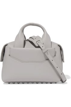 ALEXANDER WANG Rogue Small Leather Shoulder Bag. #alexanderwang #bags #shoulder bags #hand bags #leather #