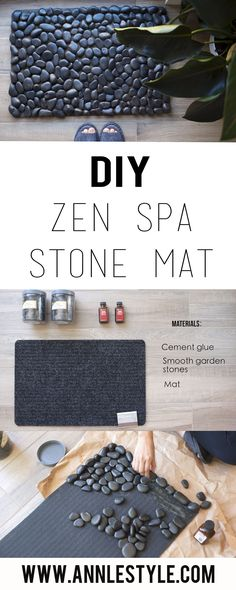 How to Make a Grounding Stone Mat – Ann Le Style