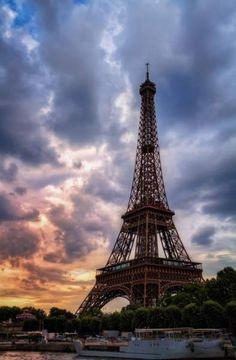 Most Romantic Travel Destinations - Paris, France.