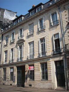 Immeublefour escalier chemin e l vation rampe d 39 appui toiture townhouses nancy - Chambre de commerce villefontaine ...