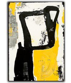 Pintura abstracta sobre lienzo pintura acrílica por Erin Ashley