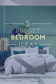 Budget bedroom makeover ideas.