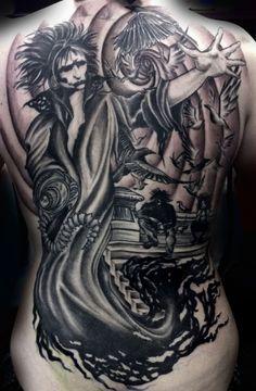 Amazing Sandman back piece.